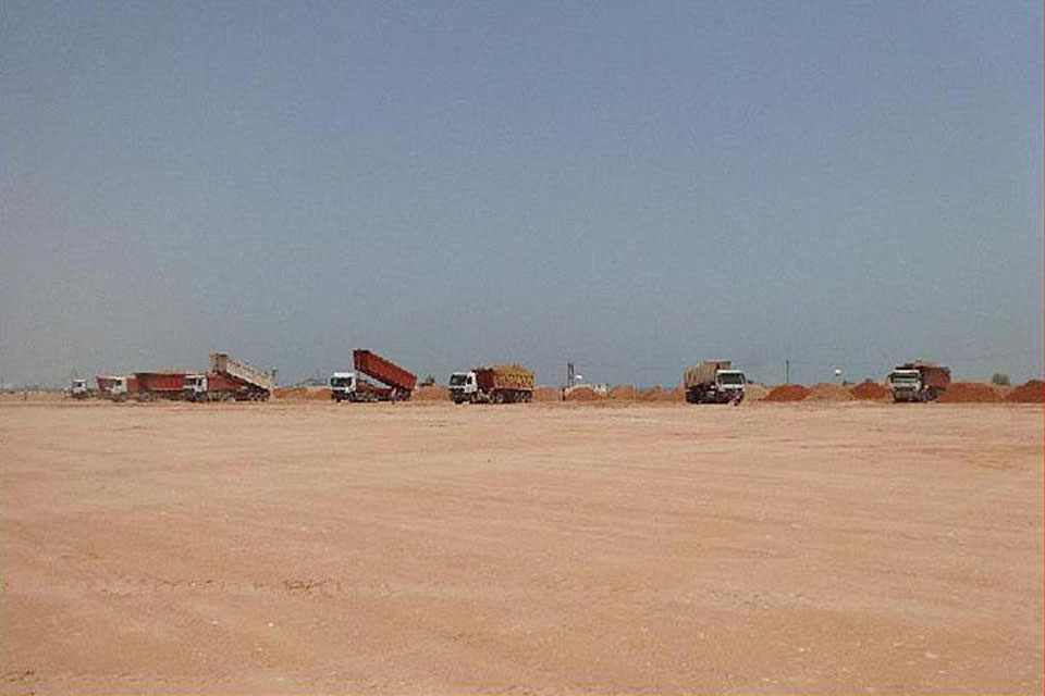Tacaamol Aromatics Project - Site Preparation Works