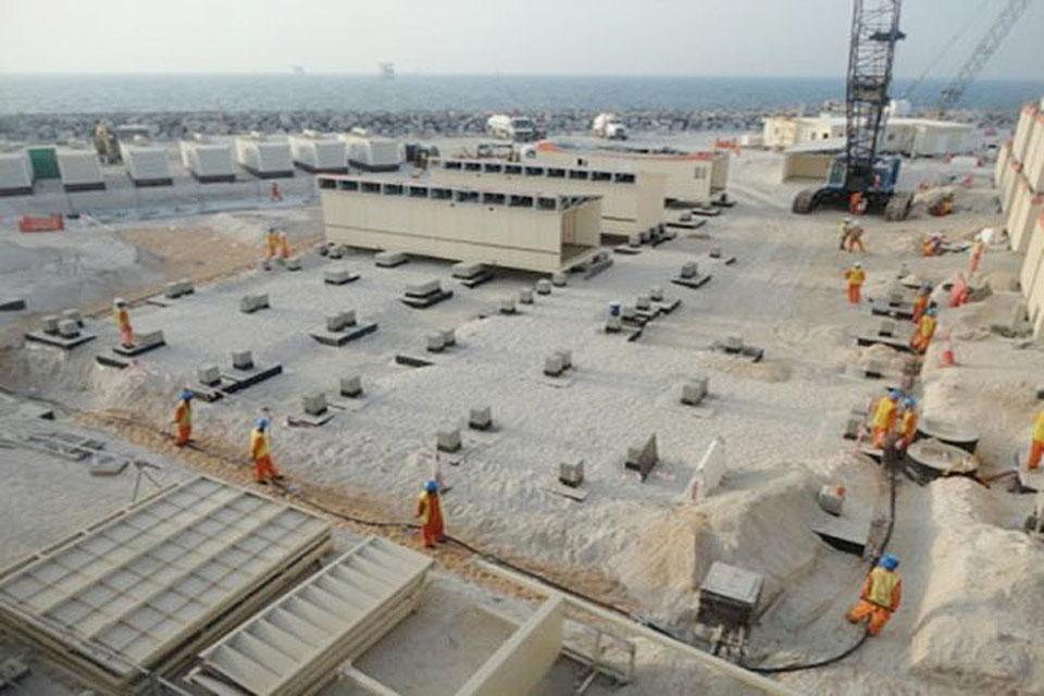 UZ 750 Island Surface Facilities Project( EPC-2)