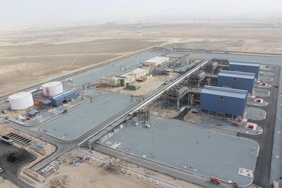 Taweelah Gas Compressor Station, Taweelah, Abu Dhabi